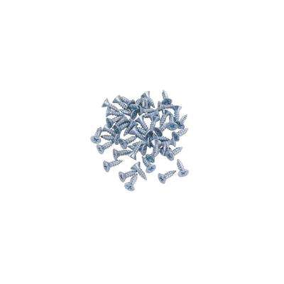 LED Tape Collection 3/8 in. #4 Philips Flat Head Mounting Screws (50-Pack)