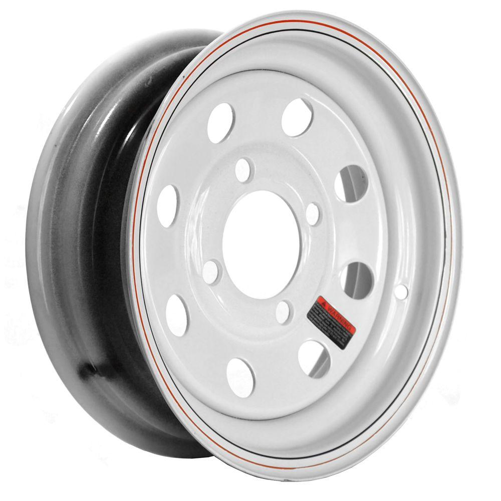 12x4 4-Hole 12 in. Steel Mod Trailer Wheel/Rim