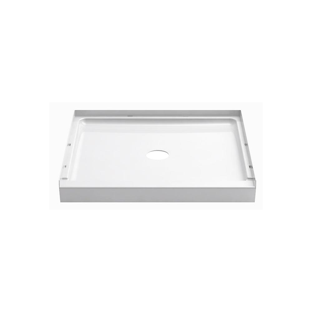 STERLING GUARD+ 36 in. x 34 in. Single Threshold Shower Base in White