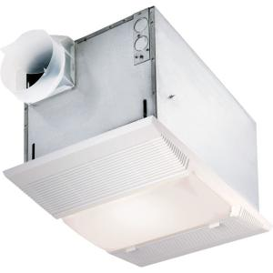 70 cfm ceiling bathroom exhaust fan with night light and heater