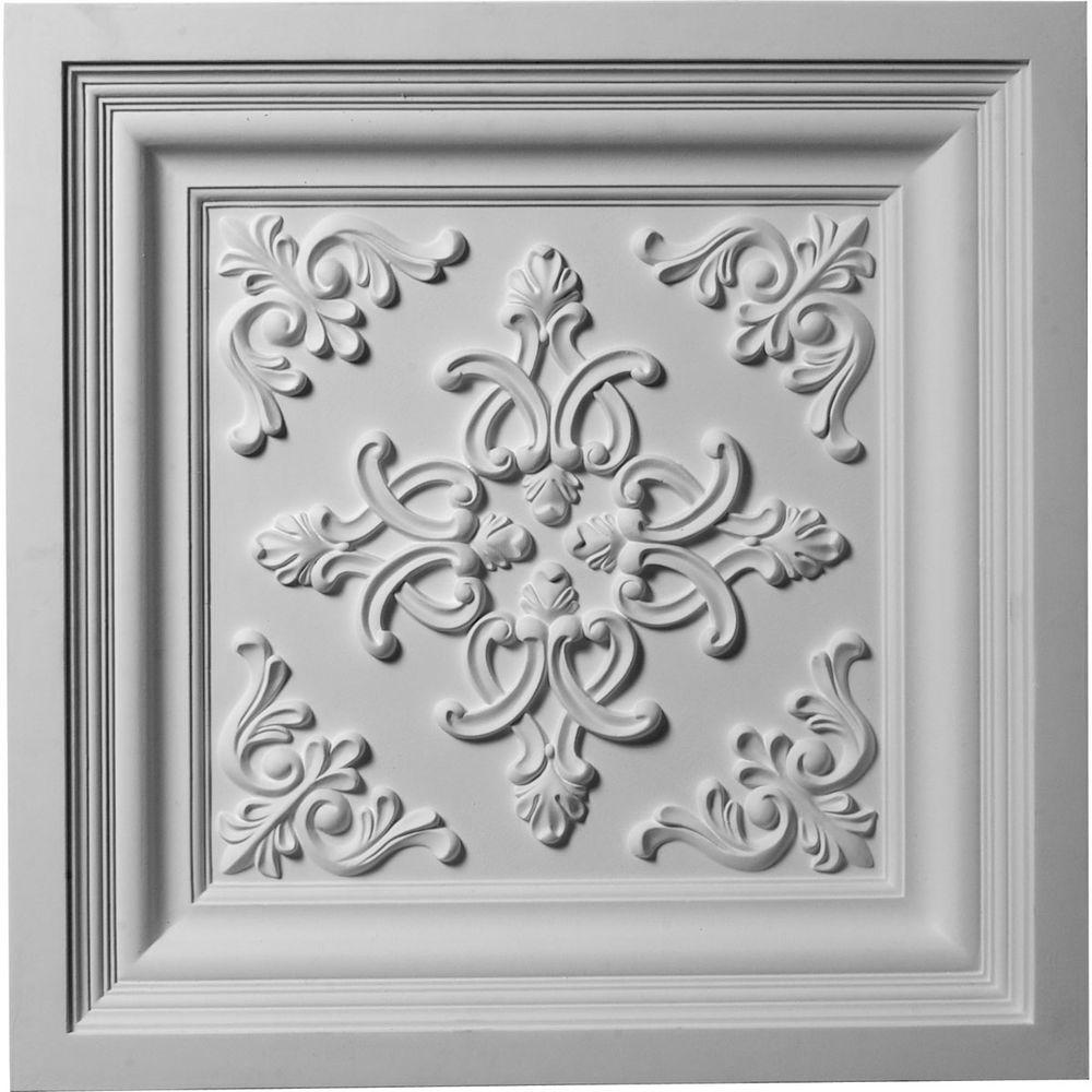 2-3/8 in. x 24 in. Polyurethane Kinsley Ceiling Tile