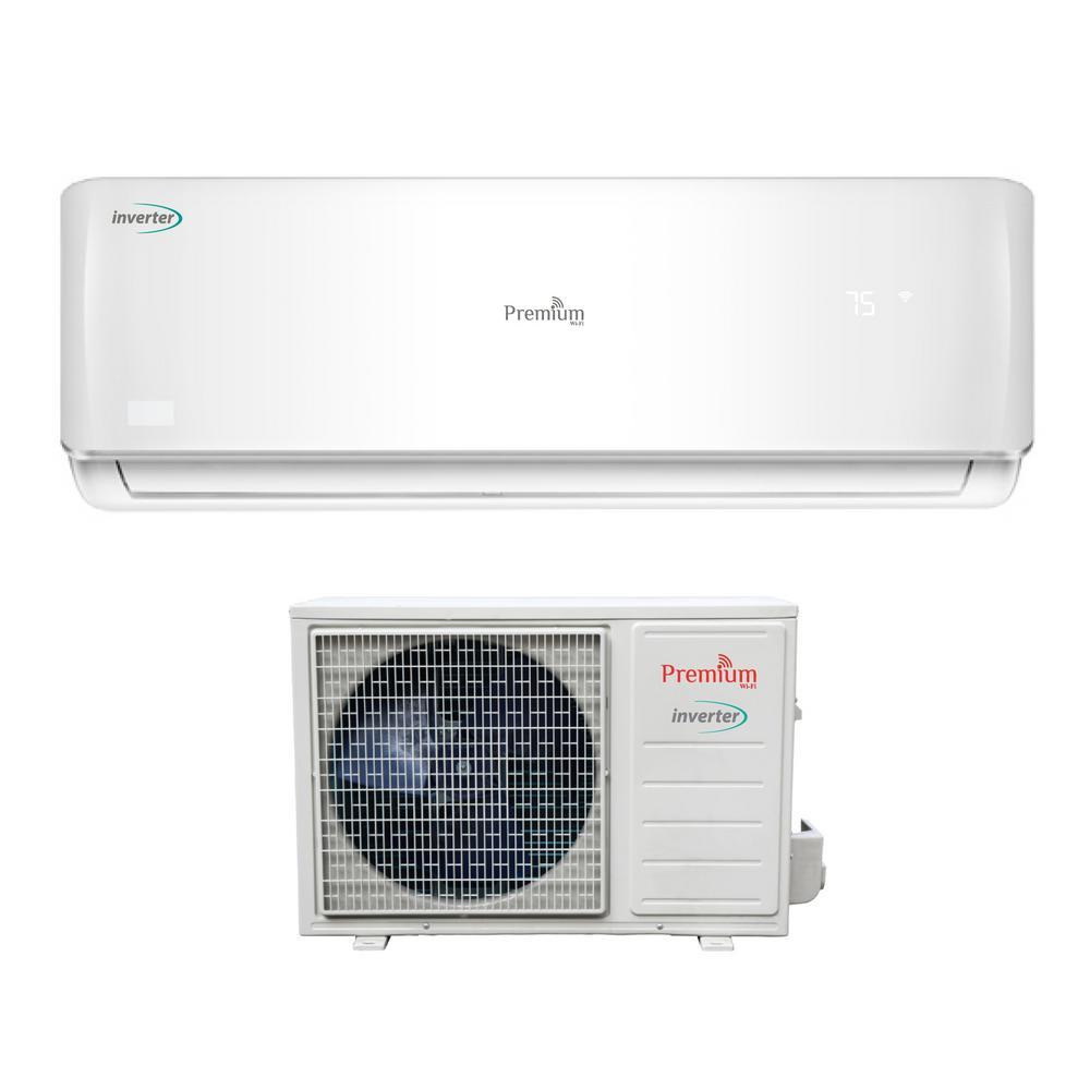 PREMIUM 12,000 BTU 1 Ton Mini Split Air Conditioner with Wi-Fi 220-Volt/60Hz