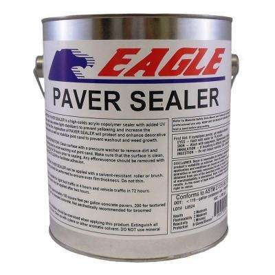 1 gal. Clear Wet Look Solvent Based Acrylic Concrete Paver Sealer