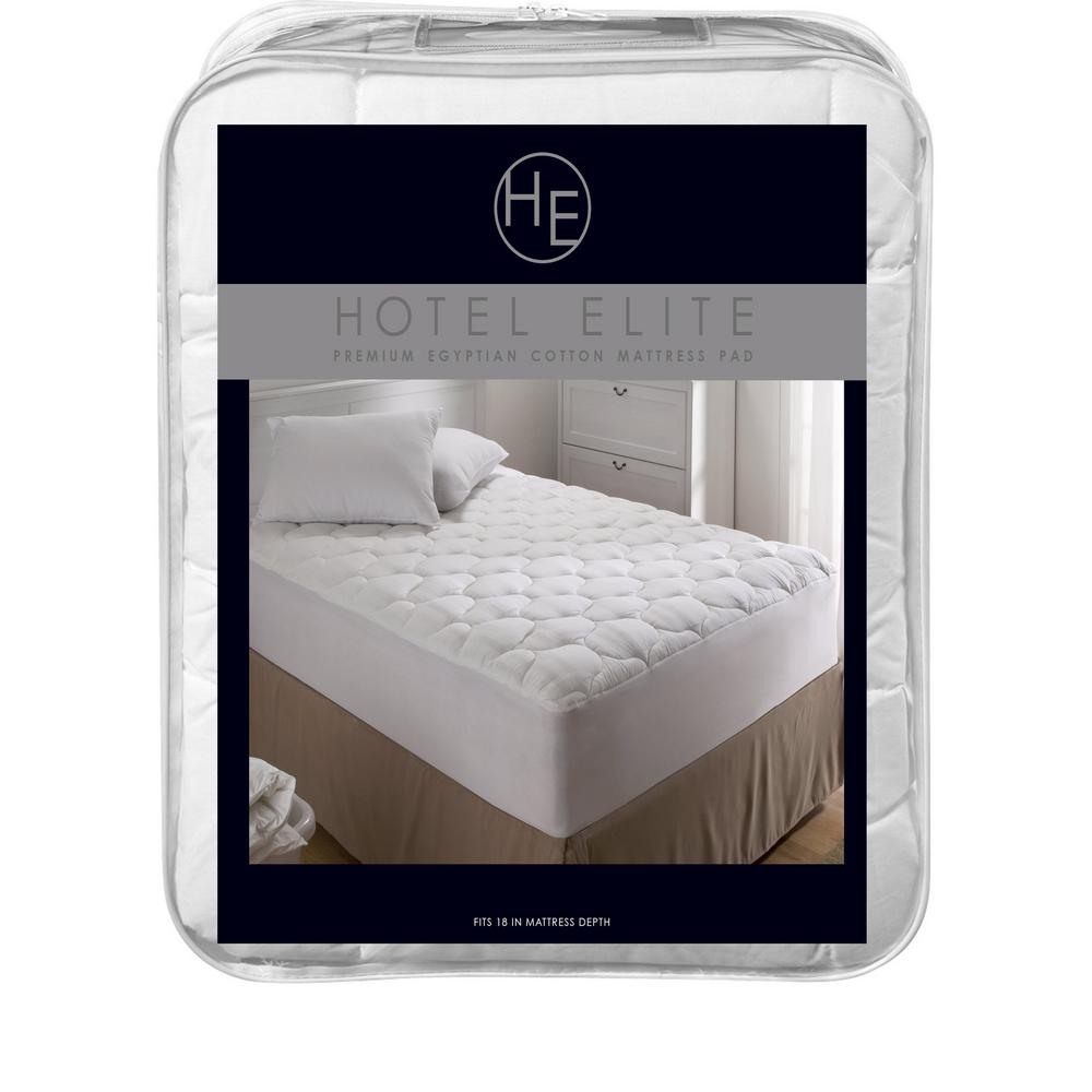 Queen Premium Egyptian 100% Cotton Mattress Pad