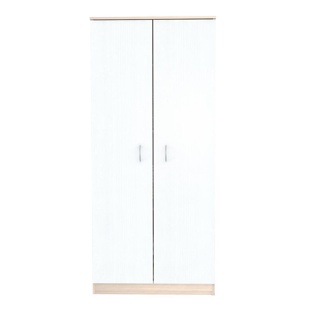 Inval Laricina White Armoire AM-16523