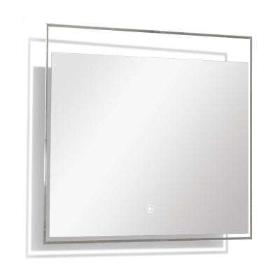 Taylor 23.62 in. x 23.62 in. Single Frameless LED Mirror