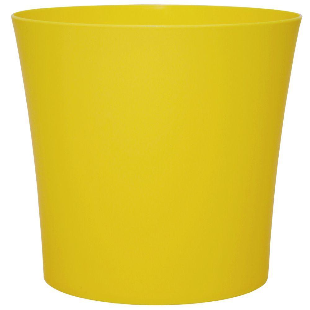 Merveilleux Robert Allen Home U0026 Garden Leland 6.5 In. Dia Sunrise Yellow PVC Planter (6