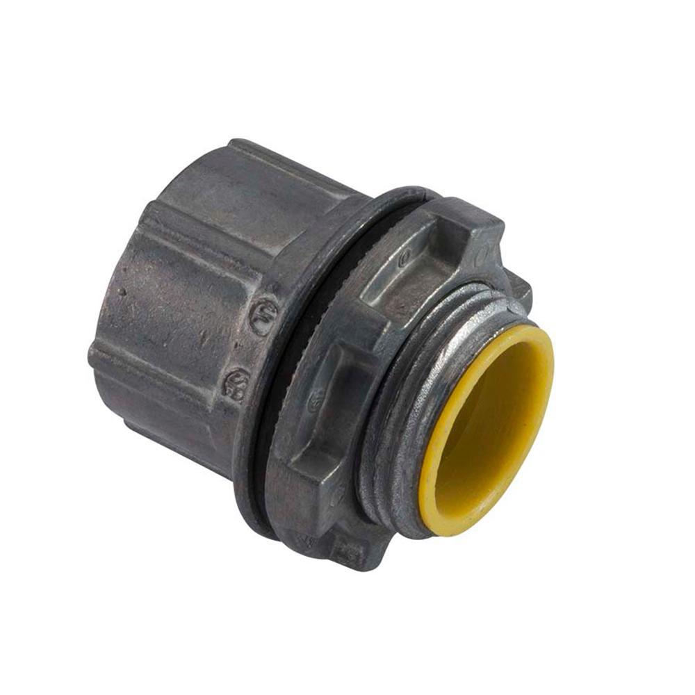 Halex 2-1/2 in. Zinc Rigid Water Tight Conduit Hub (2-Pack)
