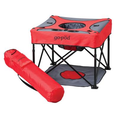 GoPod Portable Activity Seat in Cardinal