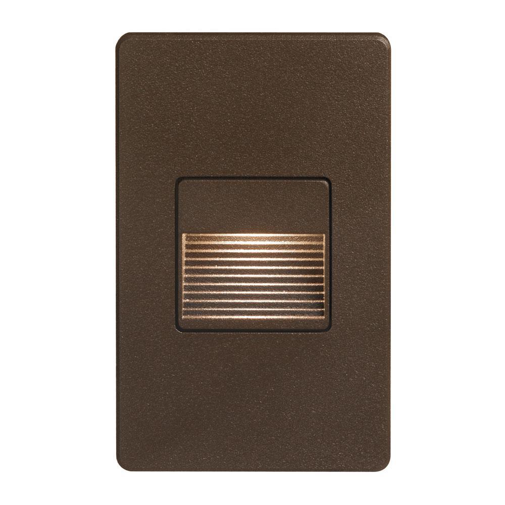 3.3-Watt Bronze Integrated LED Sconce
