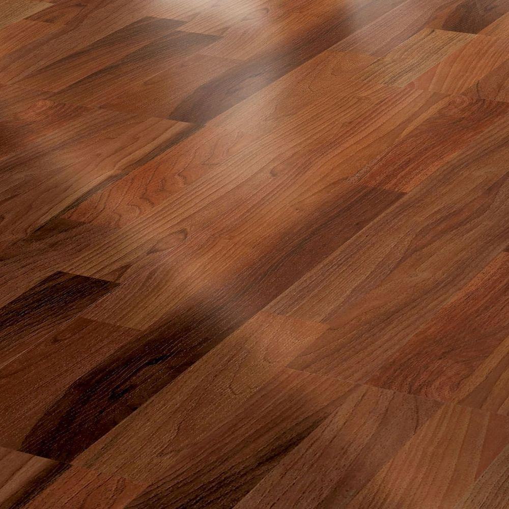 Innovations Rio Brazilian Walnut 8 mm Thick x 11-3/5 in. Wide x 46-7/10 in. Length Click Lock Laminate Flooring (22.58 sq. ft./case)