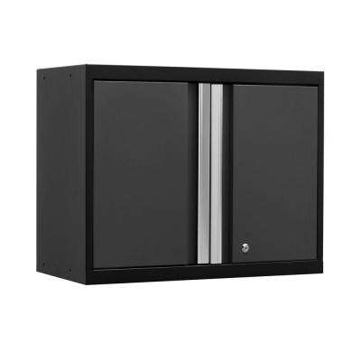 Pro 3 Series 23-1/2 in. H x 28 in. W x 14 in. D 18-Gauge Welded Steel Wall Cabinet in Gray