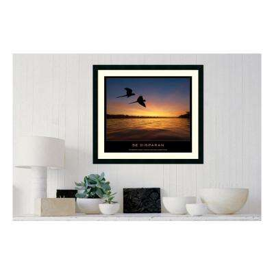 30.25 in. W x 27.13 in. H Se disparan' Printed Framed Wall Art