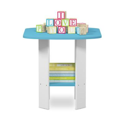 Simple Design Light Blue End Table