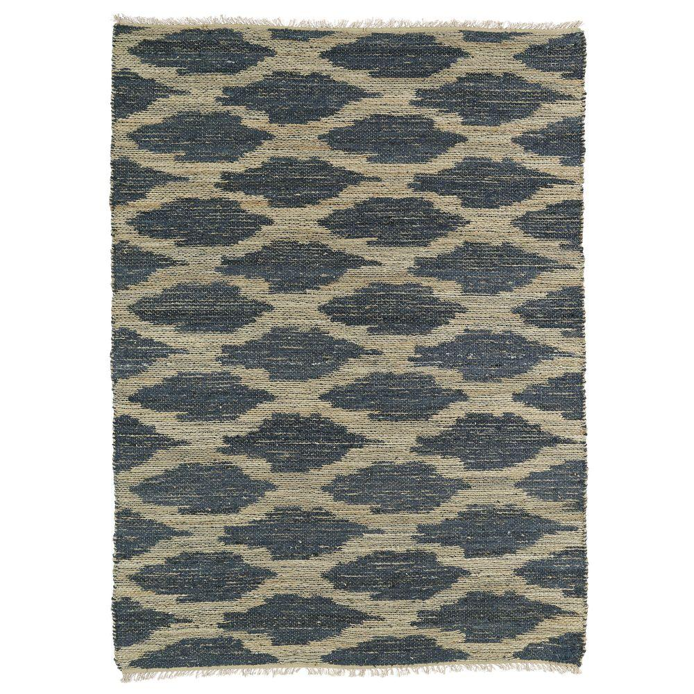 Kaleen Kenwood Denim 3 ft. 6 in. x 5 ft. 6 in. Double Sided Area Rug
