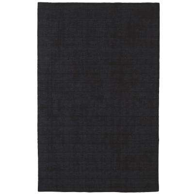 Basics Dark Blue 5 ft. x 8 ft. Area Rug