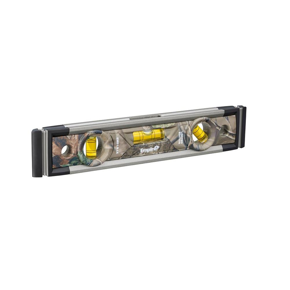 Empire 9 in. Limited Edition Magnetic Torpedo Level