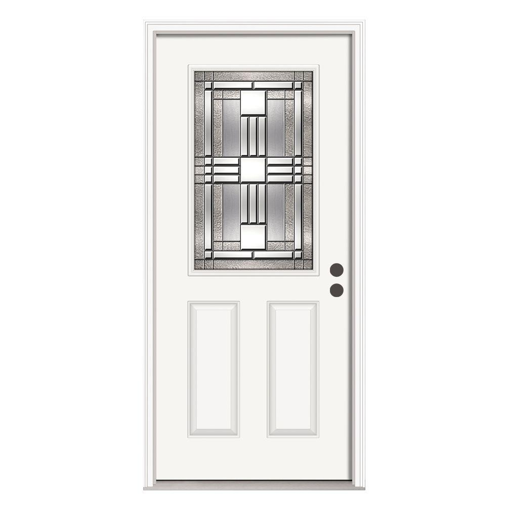Jeld Wen 36 In X 80 In 6 Lite Craftsman Primed Steel