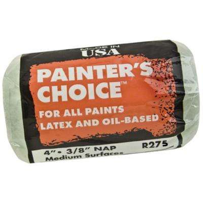 Painters Choice 4 in. x 3/8 in. Medium-Density Roller Cover