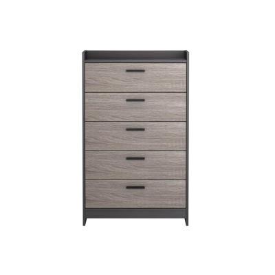 Central Park 5-Drawer Java Brown/Sonoma Chest