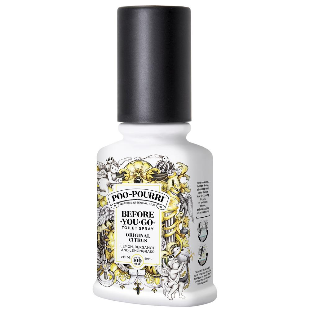 Poo Pourri Before You Go 2 Oz Original Citrus Spray Toilet
