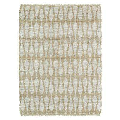 Kenwood Ivory 4 ft. x 6 ft. Double Sided Area Rug