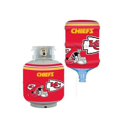 Kansas City Chiefs Propane Tank Cover/5 Gal. Water Cooler Cover