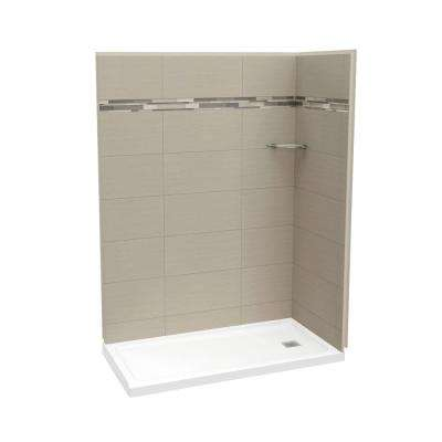 Utile Origin 32 In. X 60 In. X 83.5 In. Corner Shower Stall