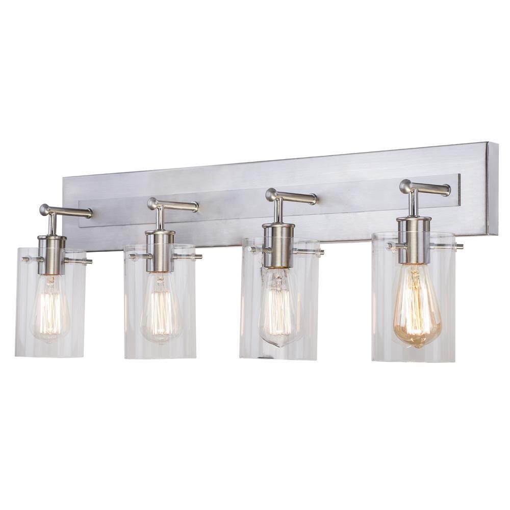 4 Light Vanity Lighting Lighting The Home Depot
