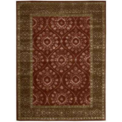 Symphony Ruby 8 ft. x 11 ft. Area Rug