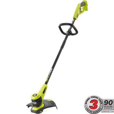 ONE+ 18-Volt Lithium-Ion Electric Cordless String Trimmer Battery and Charger Not Included