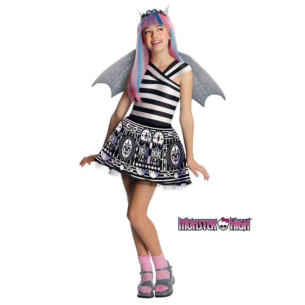 rubie s costumes girls rochelle goyle monster high costume r881679 m