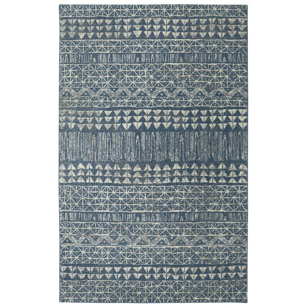American Rug Craftsmen Billerica Blue 8 Ft X 10 Area
