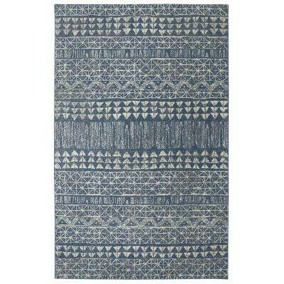 Billerica Blue 8 ft. x 10 ft. Indoor Area Rug