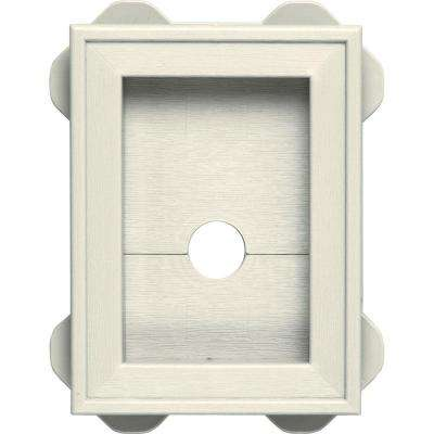 5.0625 in. x 6.75 in. #034 Parchment Wrap Around Universal Mounting Block