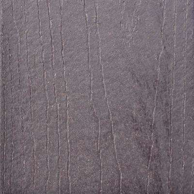 Infuse 1 in. x 5-3/8 in. x 1/2 ft. Harbor Gray Cooldeck Composite Decking Board Sample