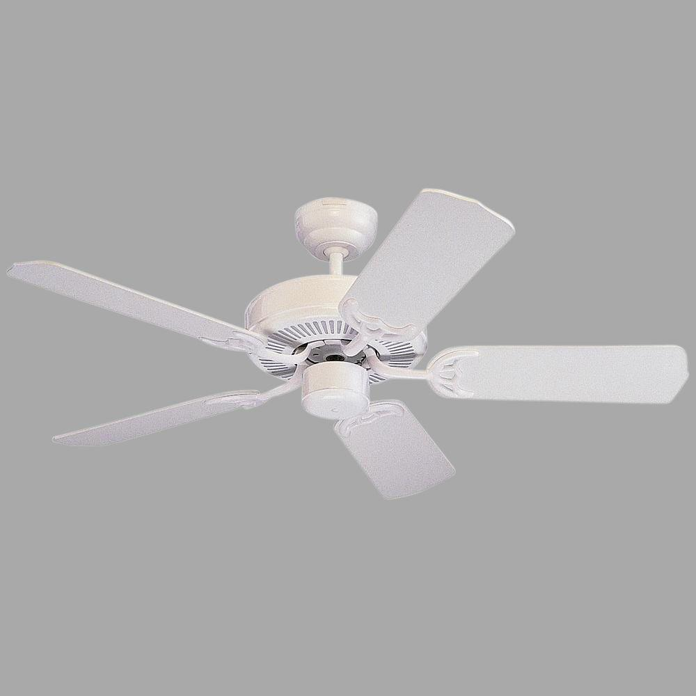 Monte Carlo Homeowners Select Ii 42 In White Ceiling Fan 5hs42wh Wiring A