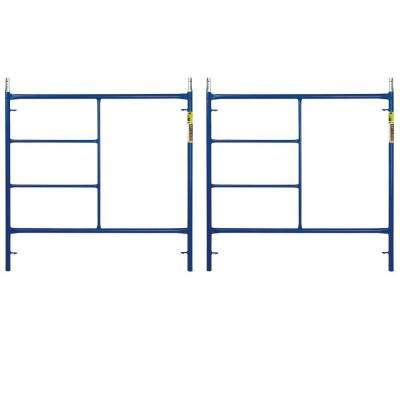 Saferstack 5 ft. x 5 ft. Mason Scaffold Frame (2-Pack)