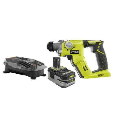 18-Volt ONE+ Lithium-Ion Cordless 1/2 in. SDS-Plus Rotary Hammer Drill Kit with 4.0 Ah LITHIUM+ Battery and 18V Charger