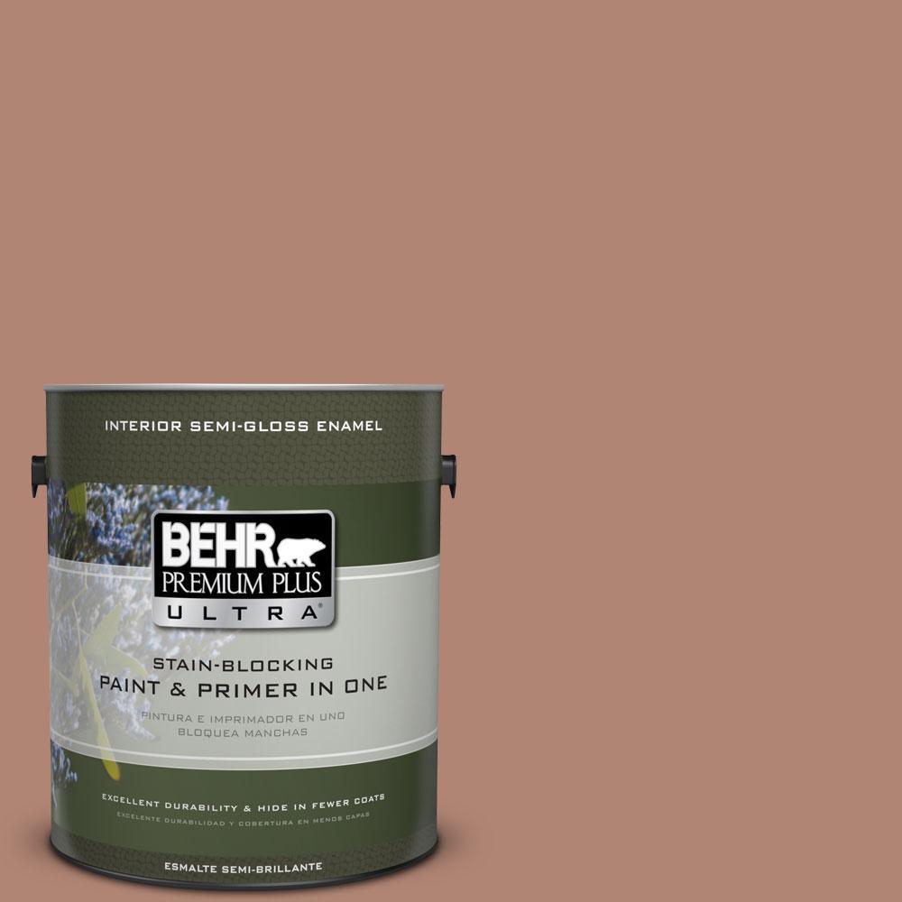 BEHR Premium Plus Ultra 1-gal. #PMD-98 Painted Skies Semi-Gloss Enamel Interior Paint