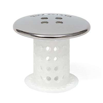 1.5 in. - 1.75 in. Drain Protector Hair Catcher in Chrome