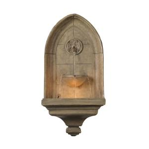 Kenroy Home Canterbury Indoor/Outdoor Lighted Wall Fountain by Kenroy Home