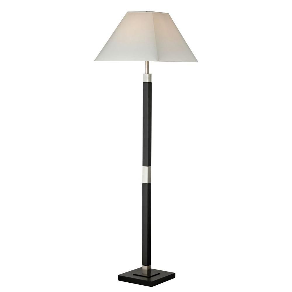 Lavelle 54 in. Black Floor Lamp