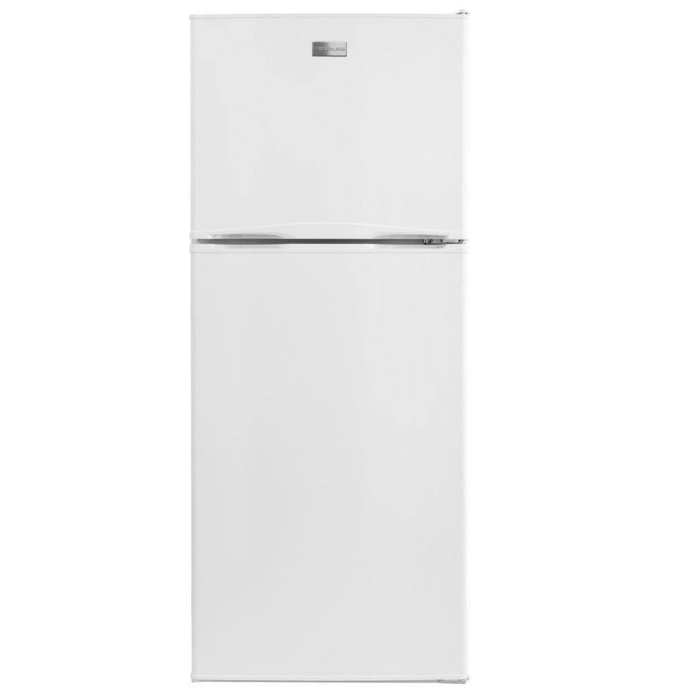 frigidaire 10 cu ft top freezer refrigerator in white energy star ffet1022qw the home depot. Black Bedroom Furniture Sets. Home Design Ideas
