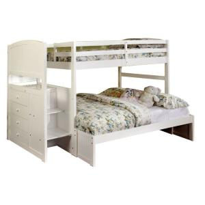 Appenzell in White Twin Over Full Size Bunk Bed