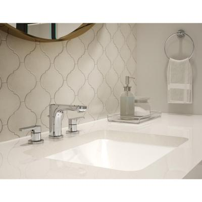 Identity 8 in. Widespread 2-Handle Bathroom Faucet with Drain Assembly in Polished Chrome