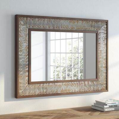 Medium Rectangle .Combination Pack Contemporary Mirror (39 in. H x 29 in. W)