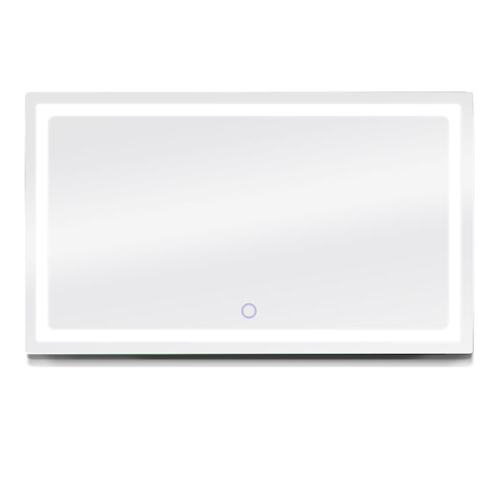 H LED Backlit Bathroom Vanity LED