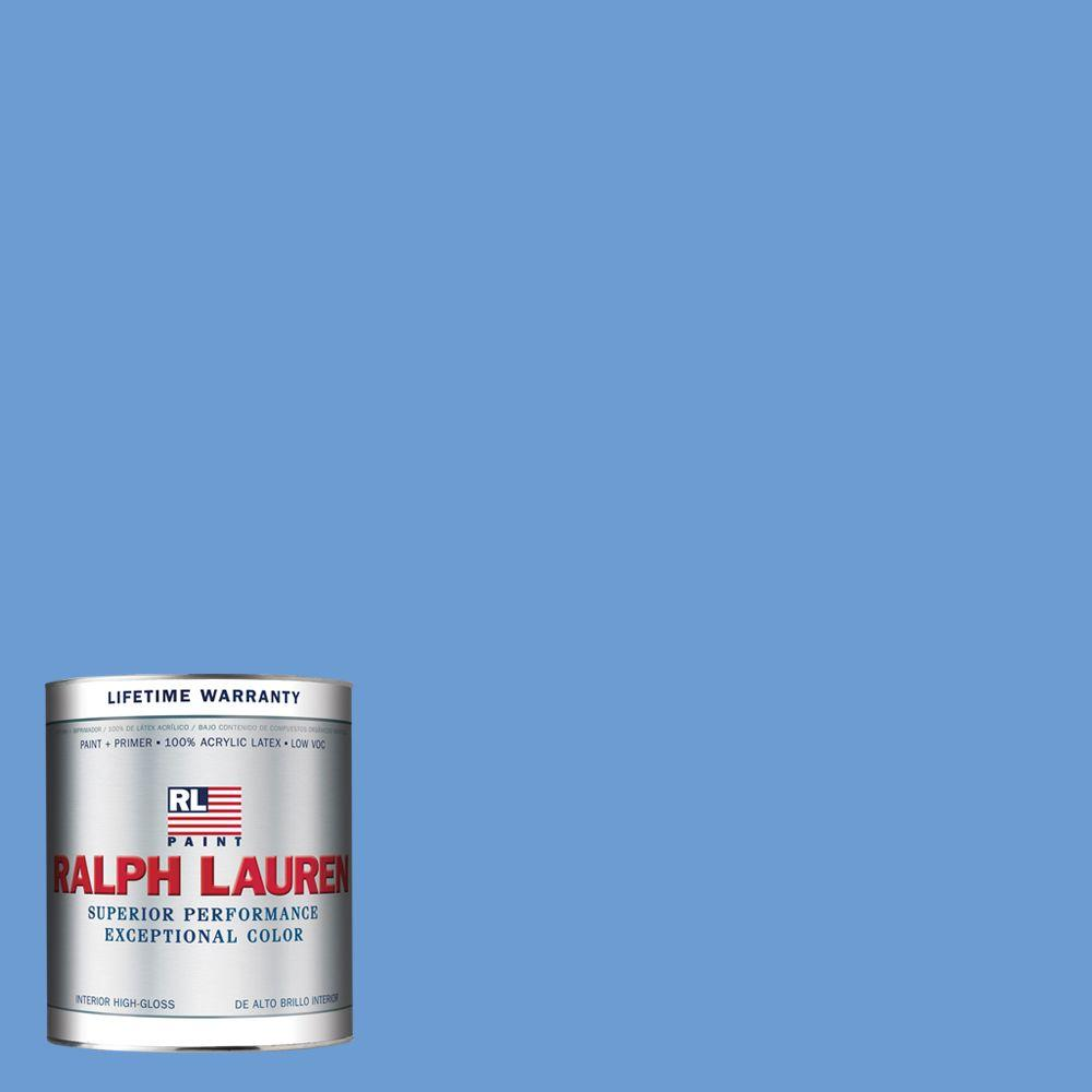 Ralph Lauren 1-qt. Muse Blue Hi-Gloss Interior Paint