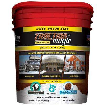 35.13 lb. 100% Natural 2-Part Granule Ice Traction System